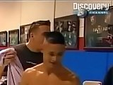 caught, college teens, gay fuck, naked, public